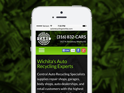 Responsive web design for CARS