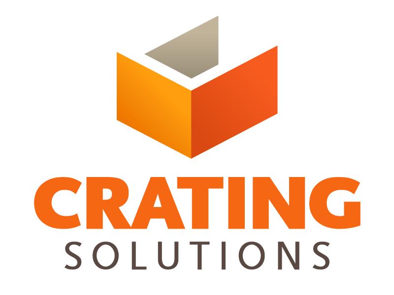 Crating Solutions logo design